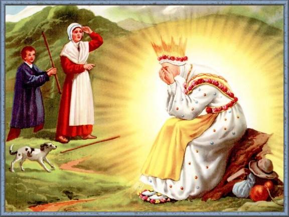 Marie et les voyants a la Salette